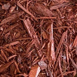 Red Shredded Mulch